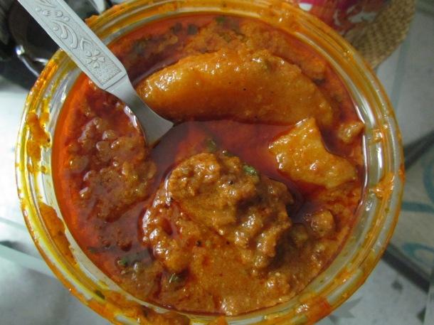 Amritsari vadi curry