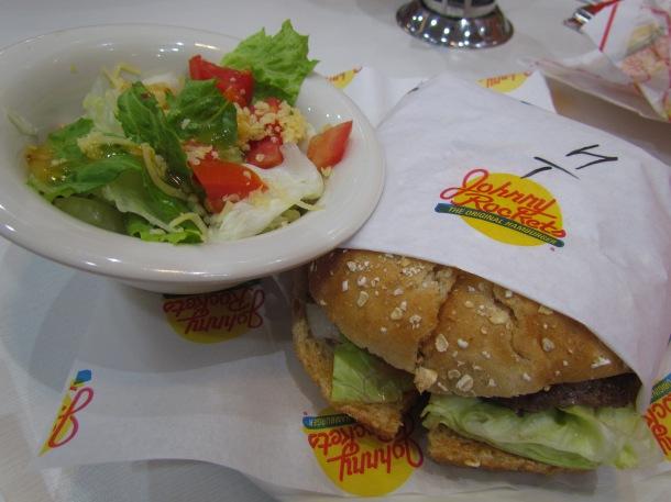 Houston nonveg burger
