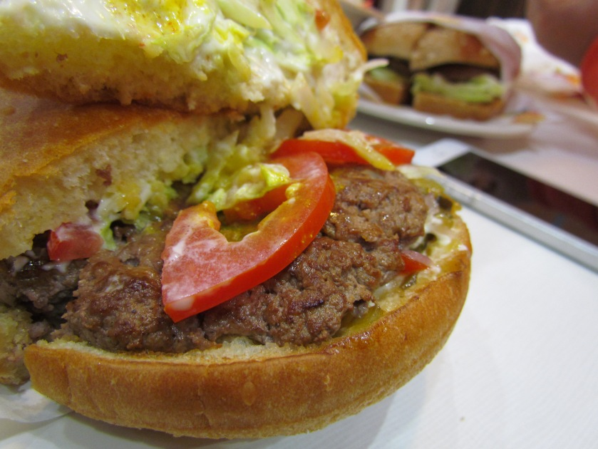 peep inside Original Burger