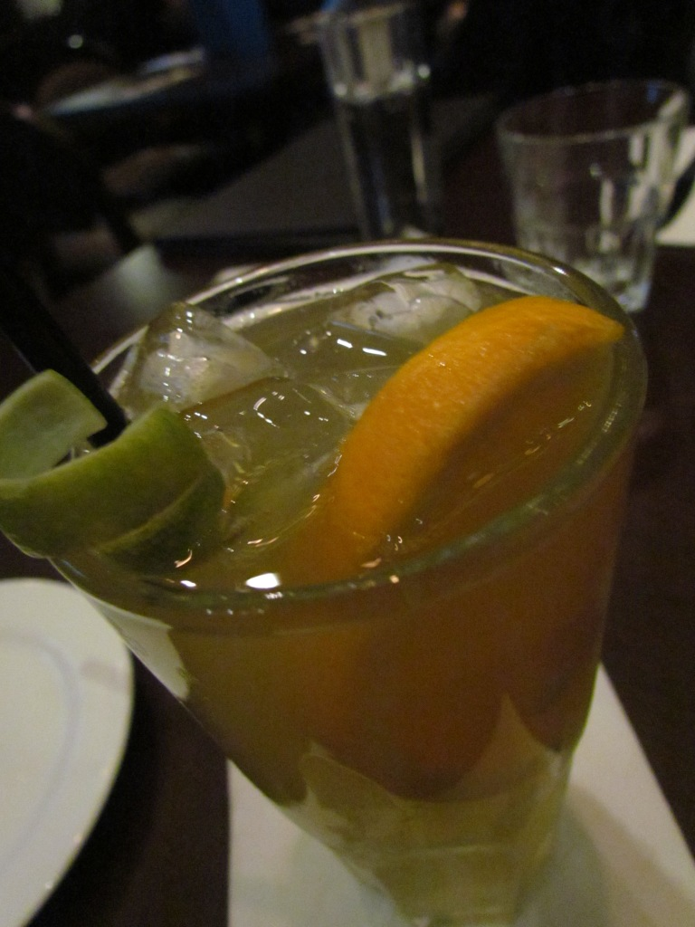 citrus based drink with Gin