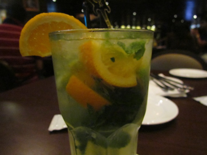 bourbon and citrus fruit based drink - charged in bill as bourbon