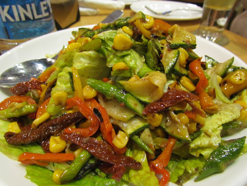 roasted vegetable & greens (veg) Salad