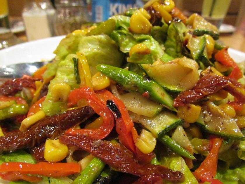 roasted vegetable & greens (veg) Salad