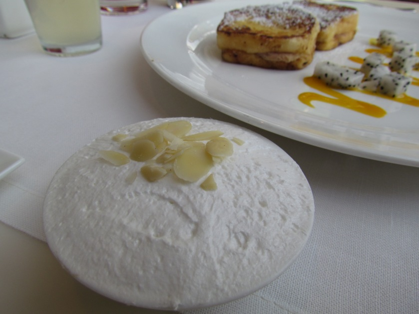 bowl of plain cream