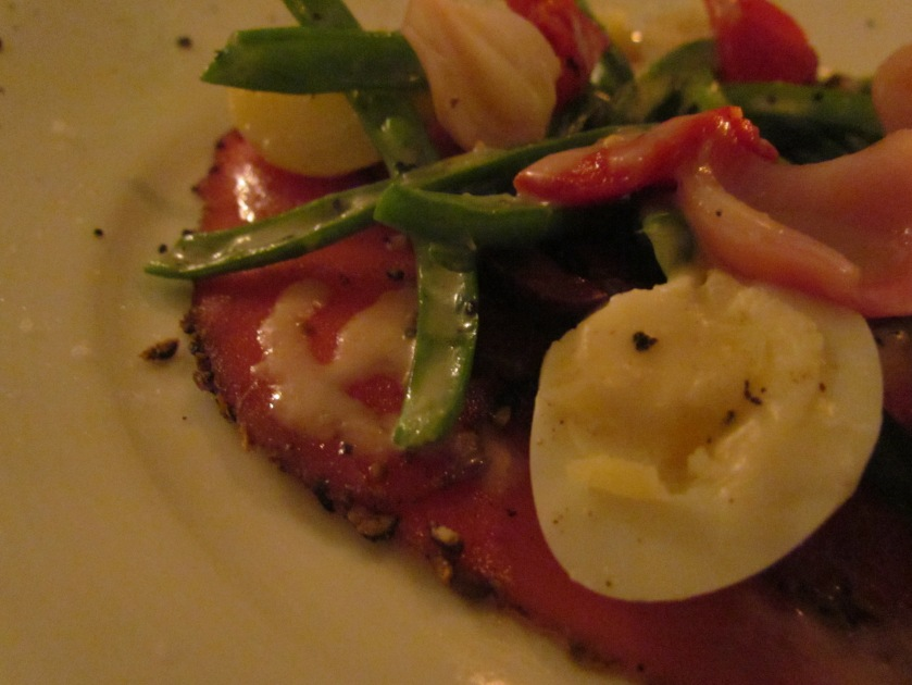 olive signature seared tuna nicoise