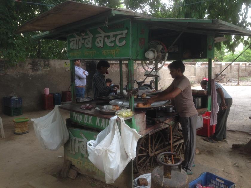 the main kitchen cart