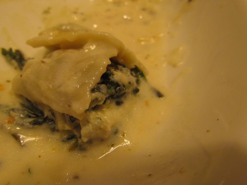 A peep inside the ravioli