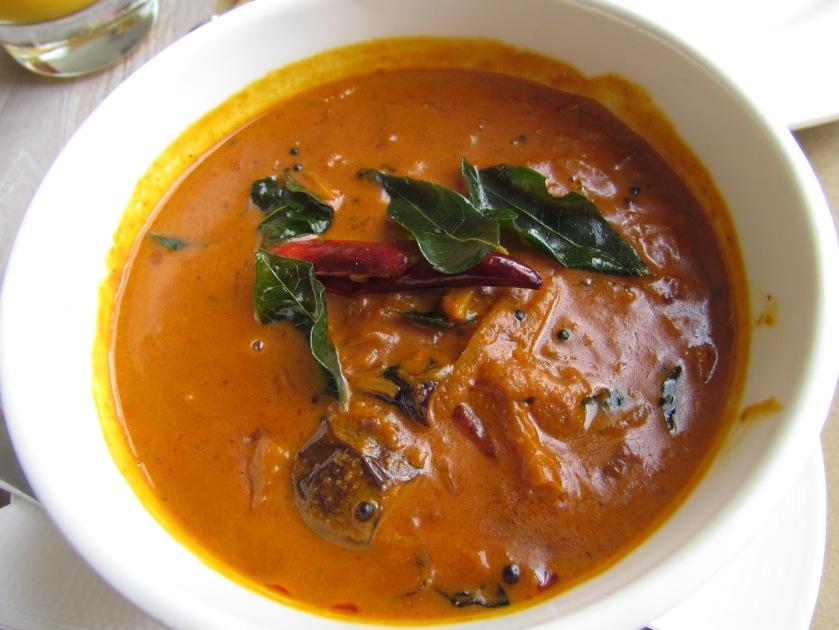 Mom's aubergine Cocum curry