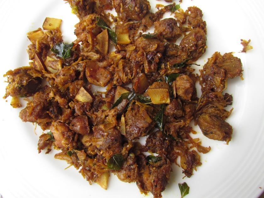 mutton sukka fried
