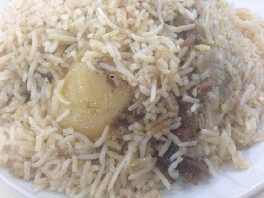 Double meat special mutton biryani