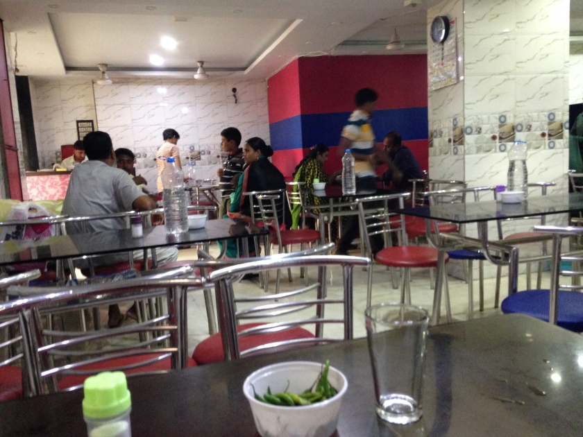 Dining Hall of the restaurant