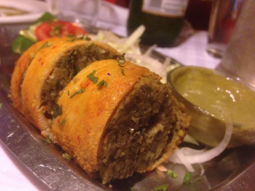 Chicken firdausi kabab