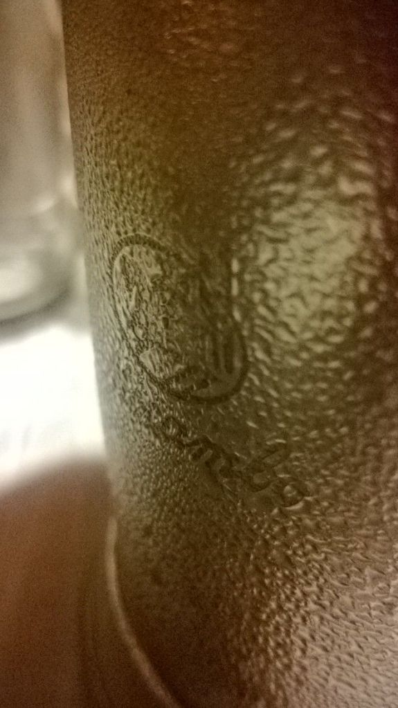 metal beer mugs inscribed with mocambo