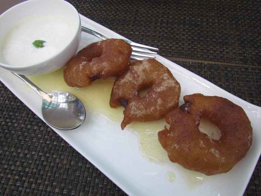 The apple jalebis