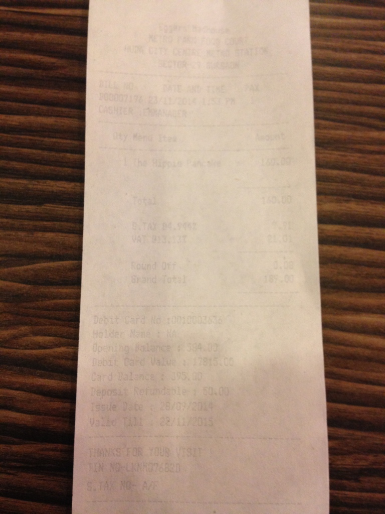 receipt 4- proof of payment