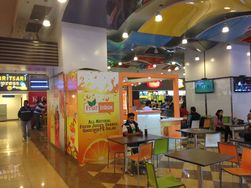 Another view of the food court