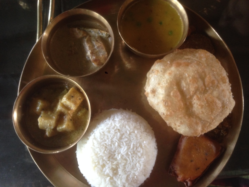 Gobindo Bhoger Bhat & ghee with other items