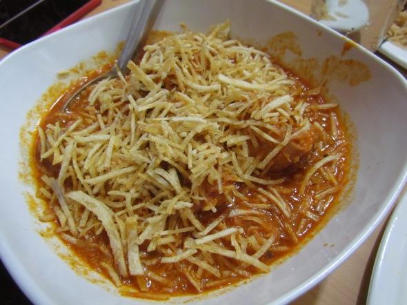 Salli marghi / salli chicken