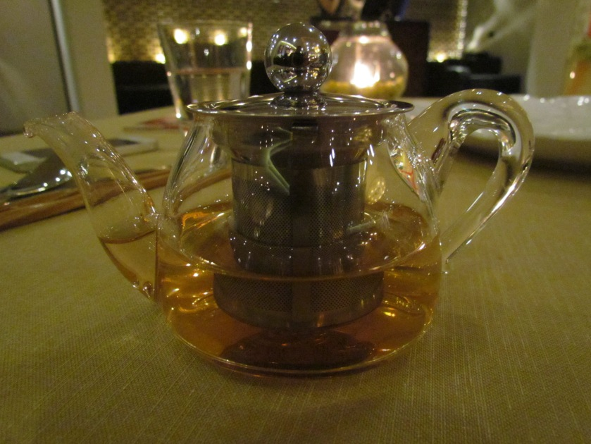 Complimentary Green tea