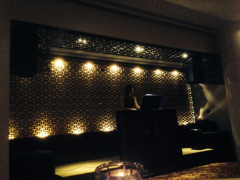 live music counter