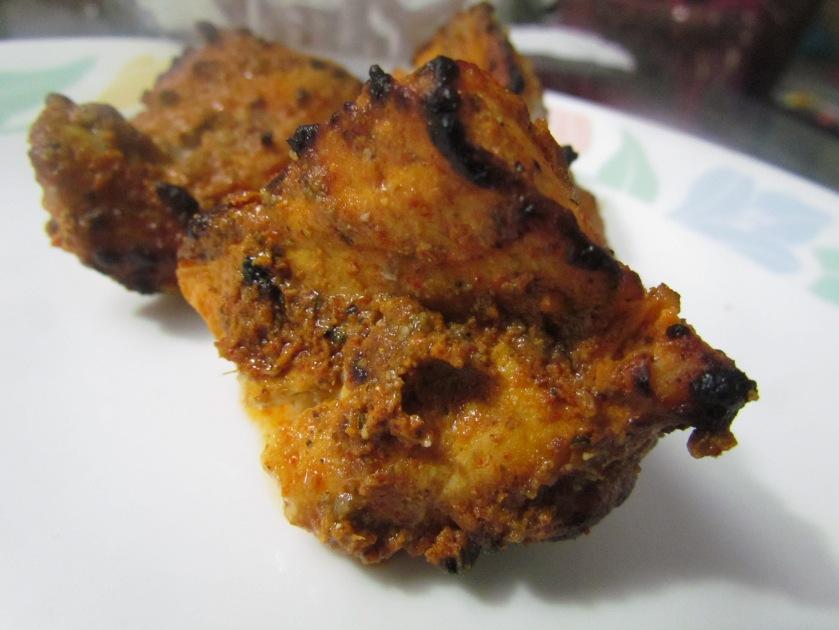 Fish tikka amritsari