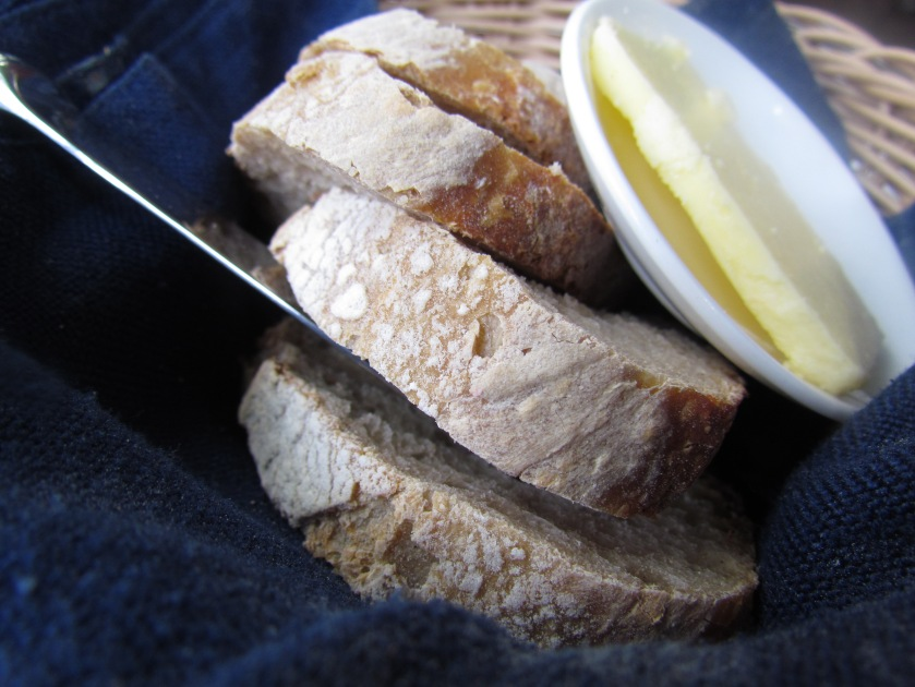 Bread baked 'in house'