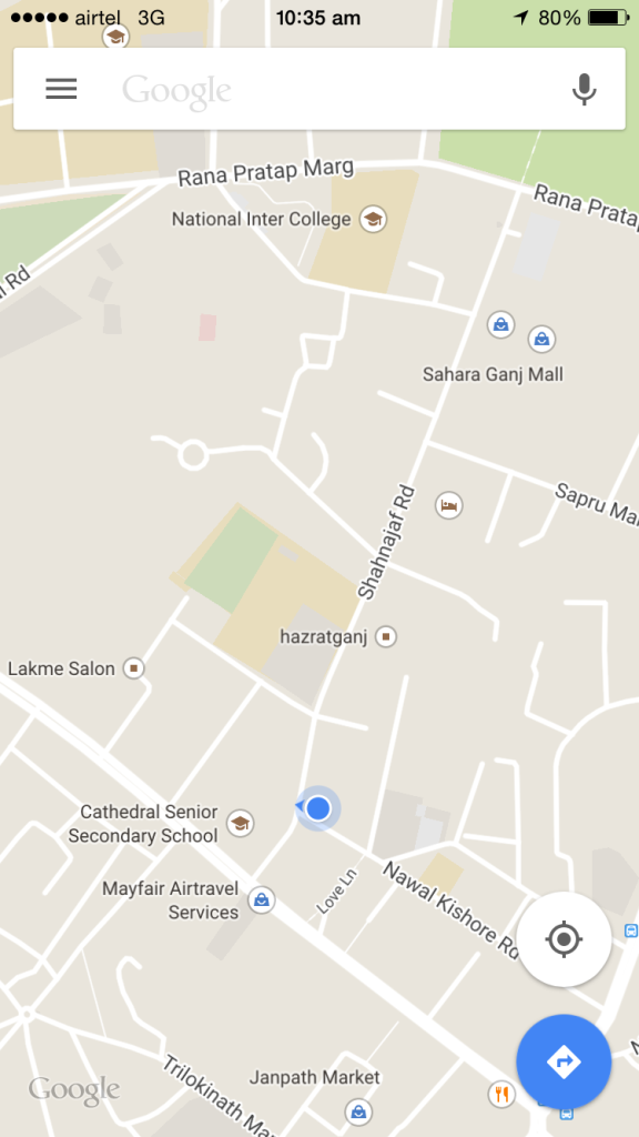 picture of google map