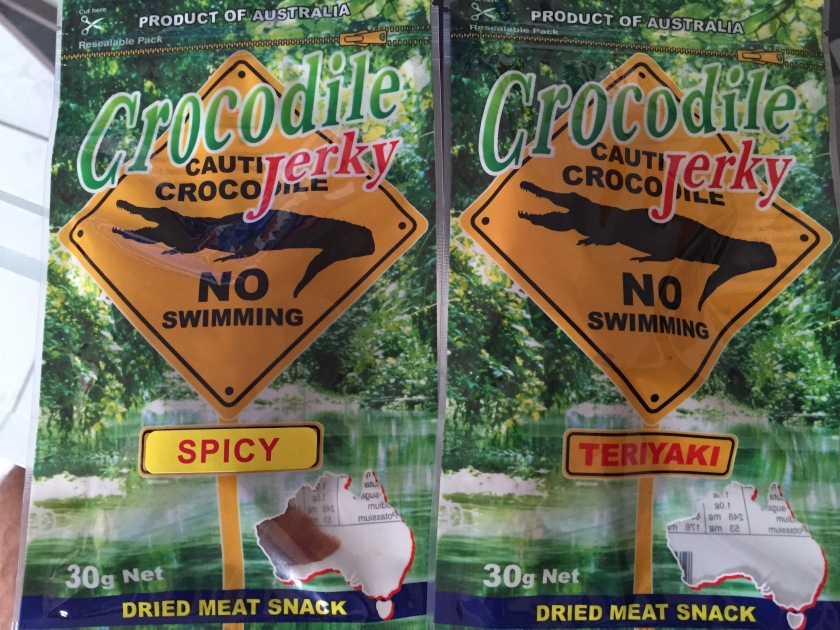 crocodile meat jerky