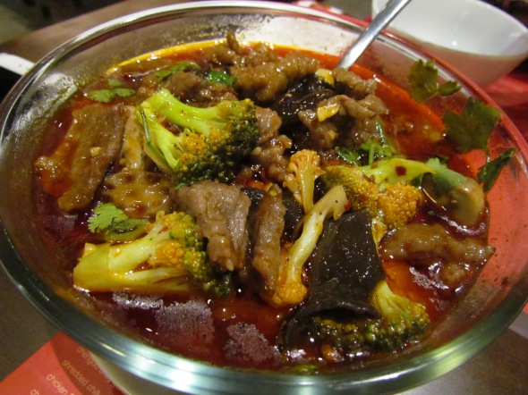 Tenderloin Hot pot close up