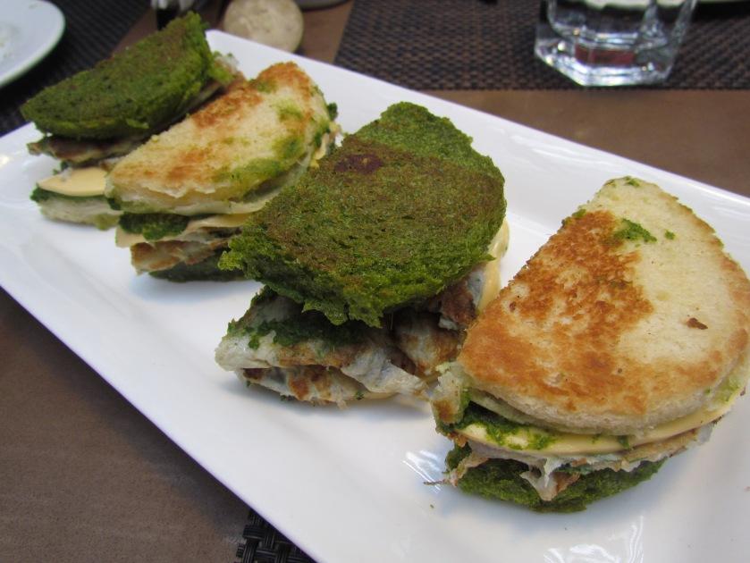 Railway masala omelet