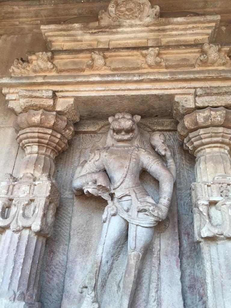 Narasimha - Half lion, Half Human, an avatar of Vishnu