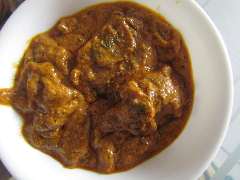 Gatte curry