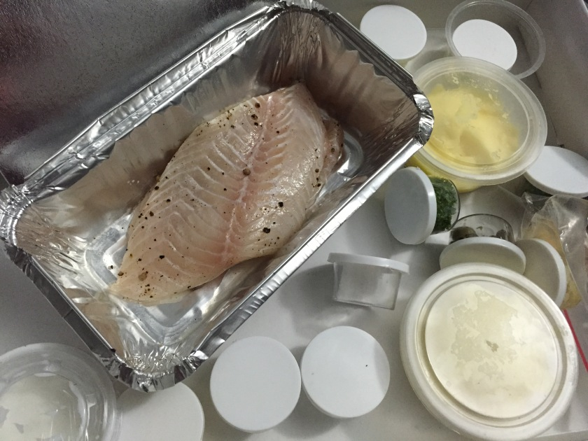 ingredients of the sole dish