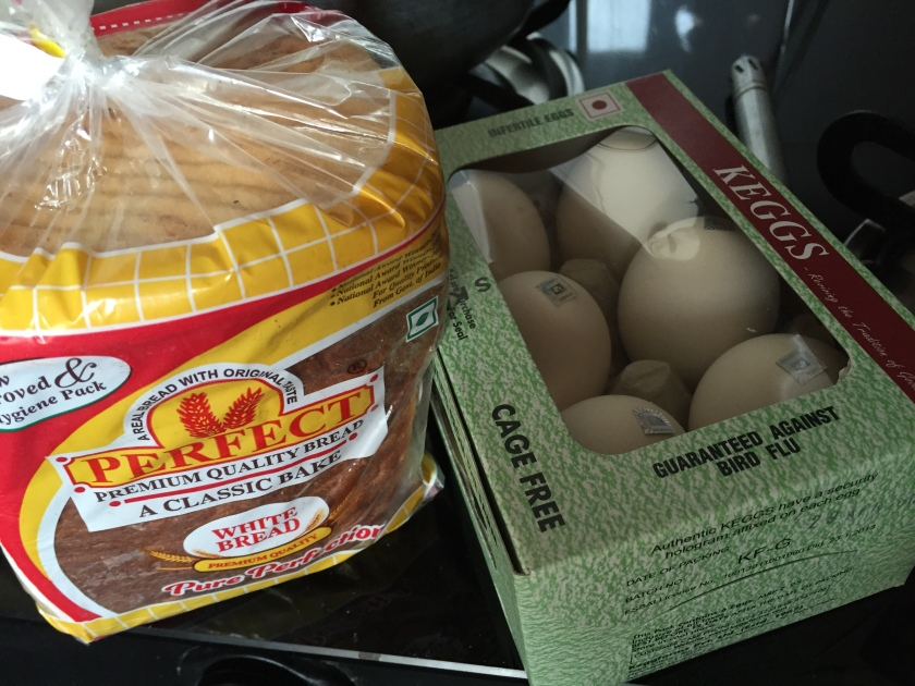 give a twist to bread & eggs