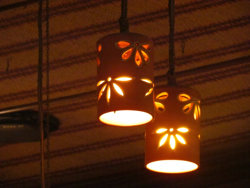 clay lamp shades