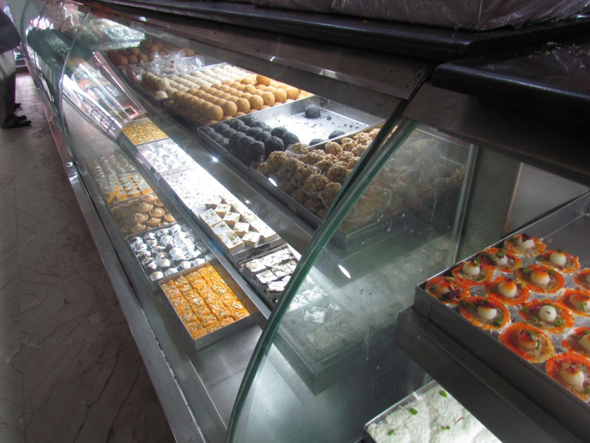 sweets display