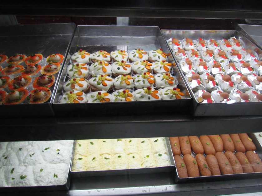 more sweets displayed