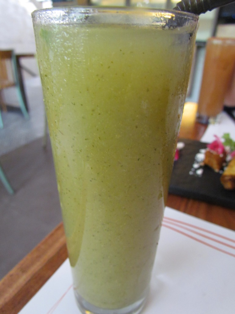 Guava lemon mint drink
