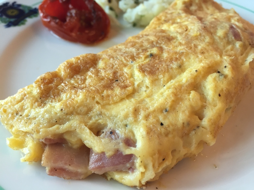 continental style omelet