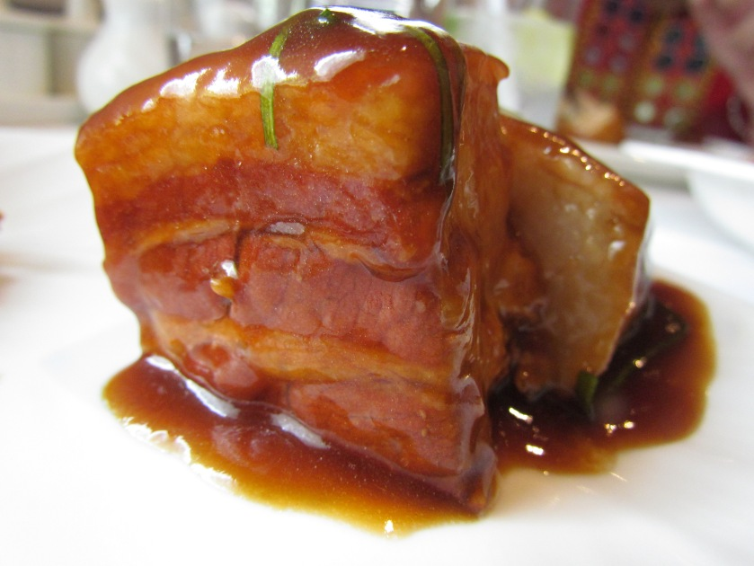 Braised pork belly