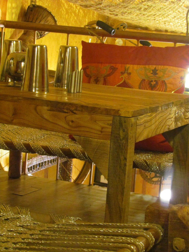 inside the restaurant - first floor