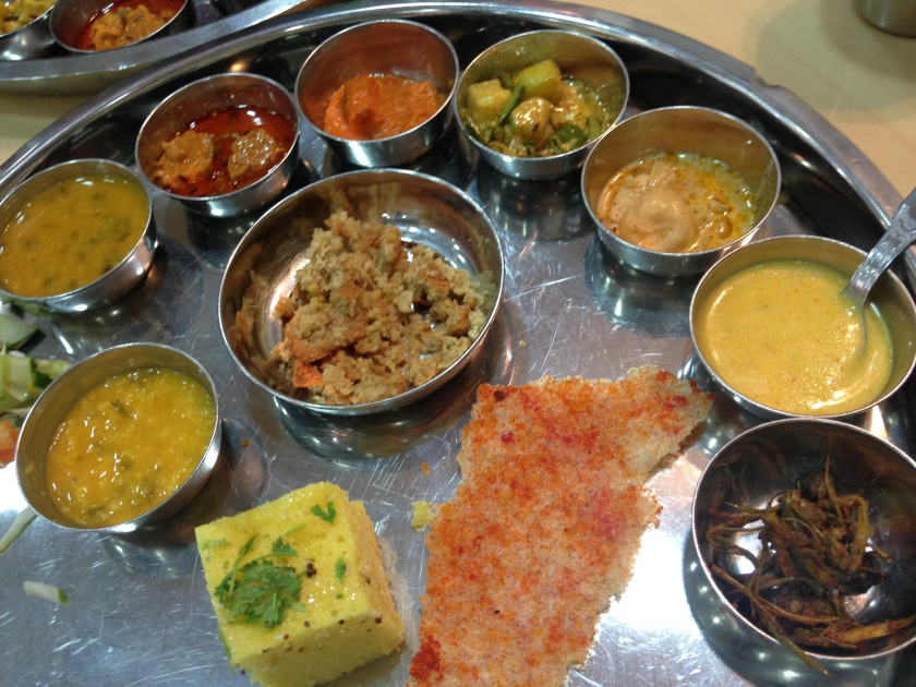 part of the thali
