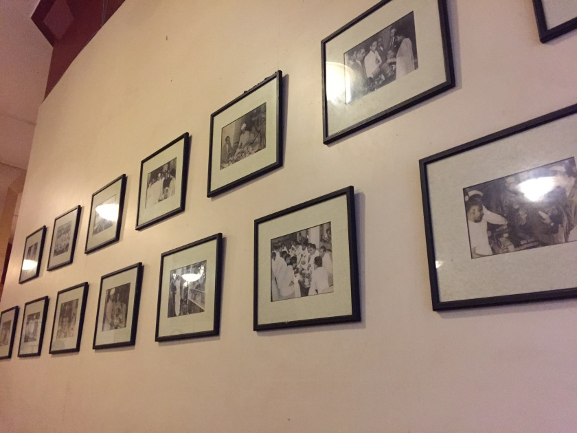 pictures of eminent people who visited