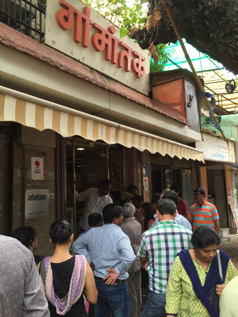 Queue outside the eatery