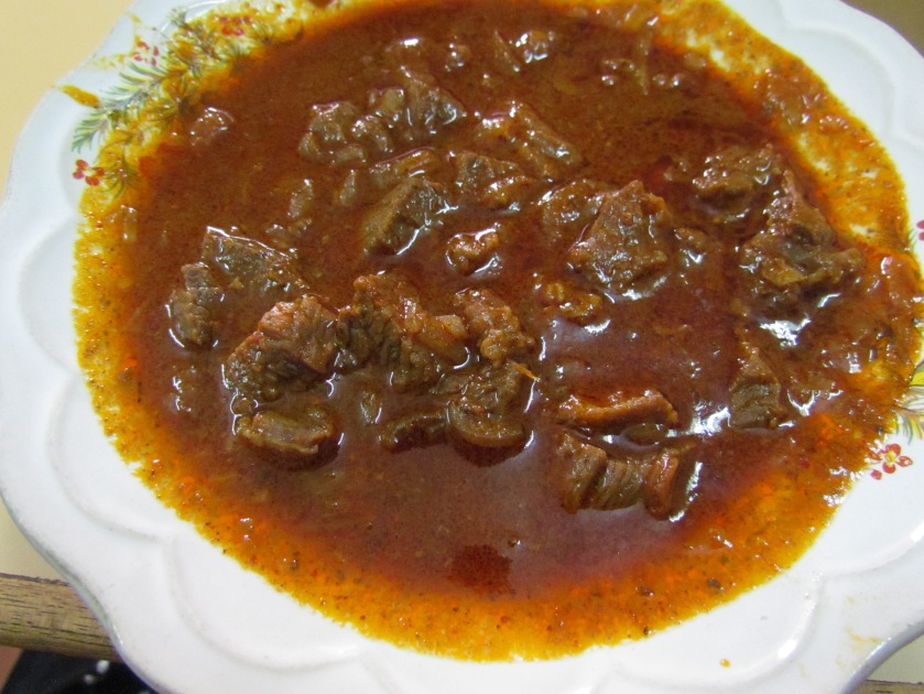 Beef chilly gravy
