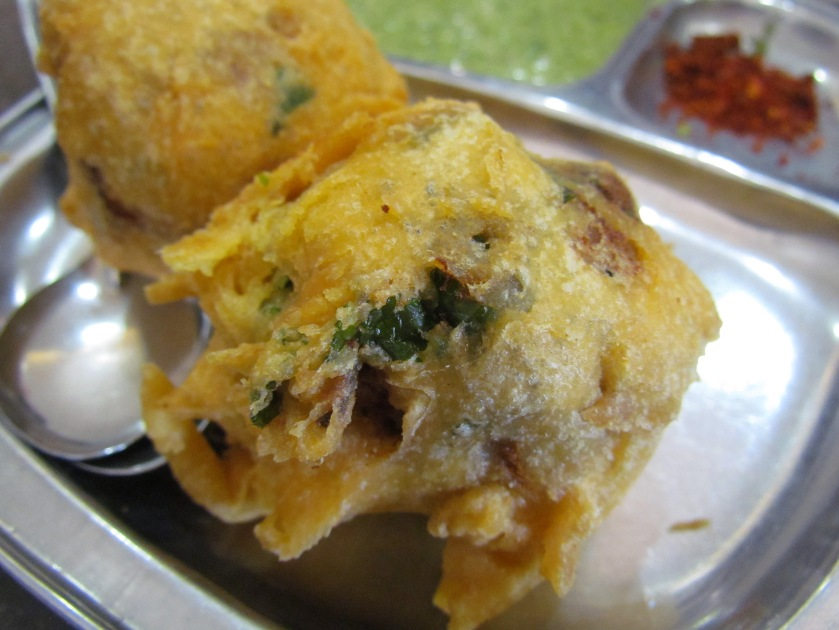 vada to b eaten with pav