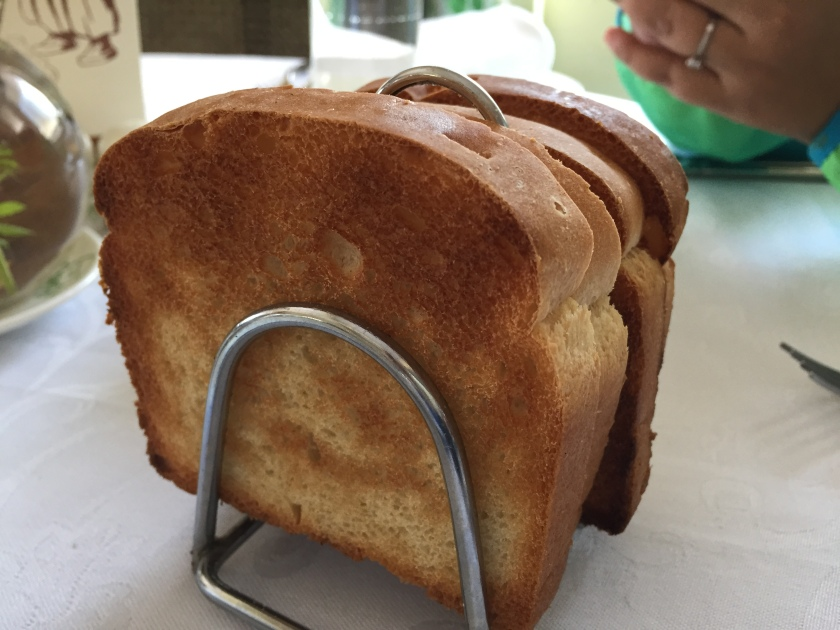 Fresh toasted bread