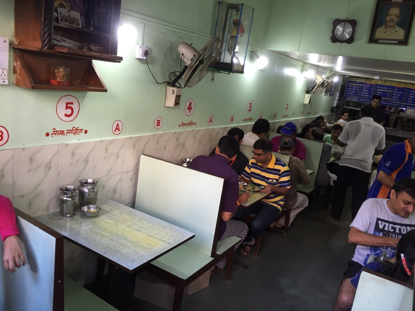 Inside the eatery