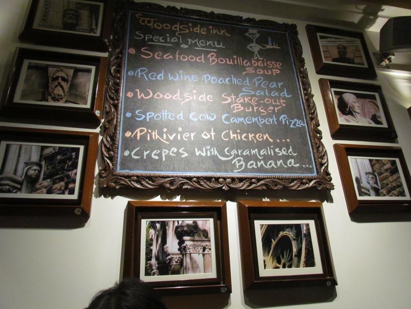 menu of teh week