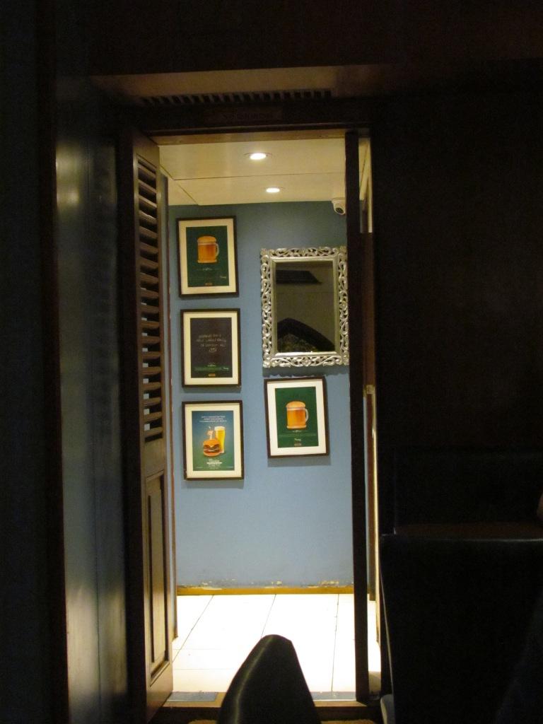 inside teh restaurant